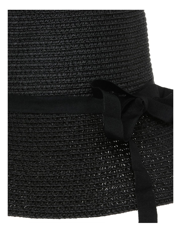 Classic Style Sun Hat W Narrow Band Bow And Tails image 4