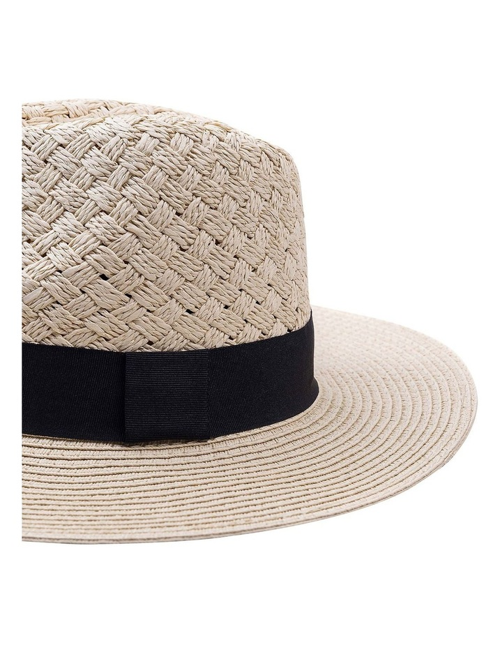 Woven Featured Hood W Plain Brim And Contrast Band image 2