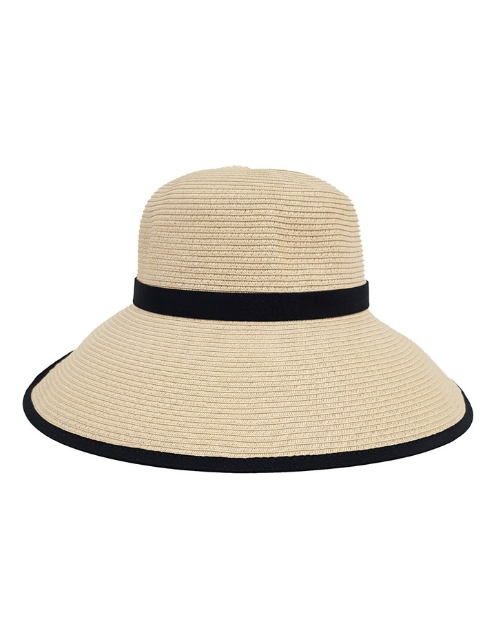 3-7209 Cream Black (Sally Bucket Hat) image 1