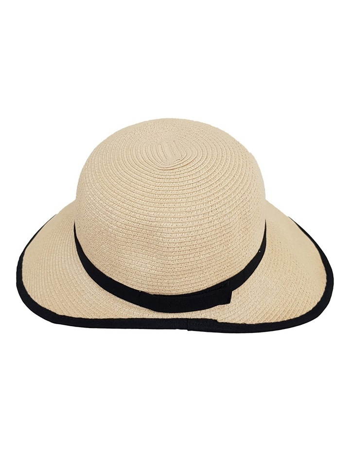 3-7209 Cream Black (Sally Bucket Hat) image 4