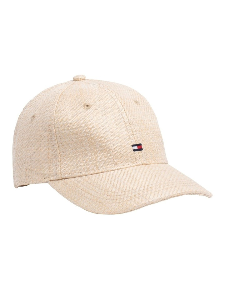 Straw Effect Baseball Cap image 1