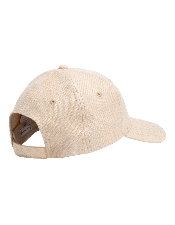 Straw Effect Baseball Cap image 2