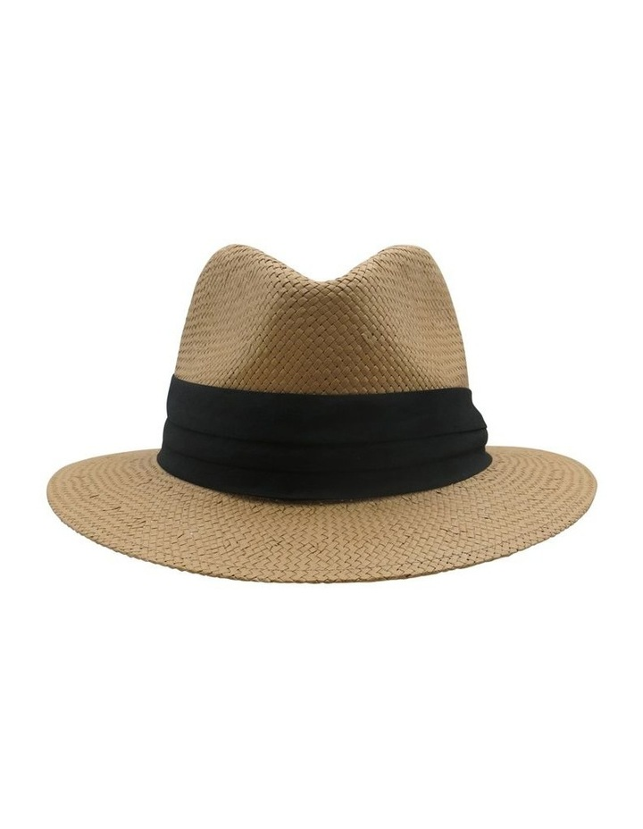 Fedora With Black Trim Summer Hats image 1
