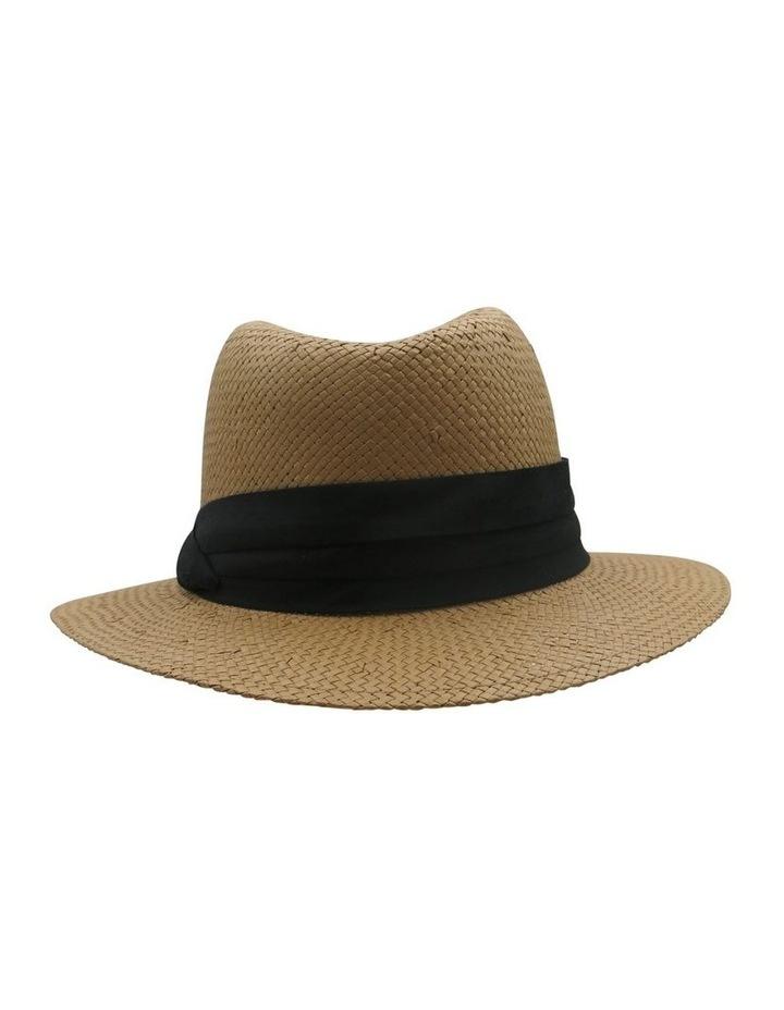 Fedora With Black Trim Summer Hats image 2