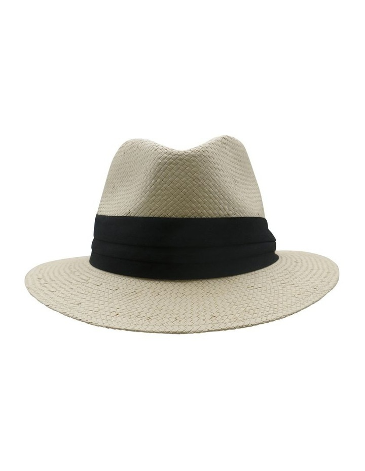 Fedora With Black Trim Summer Hats image 1