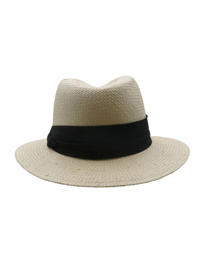 Fedora With Black Trim Summer Hats image 2