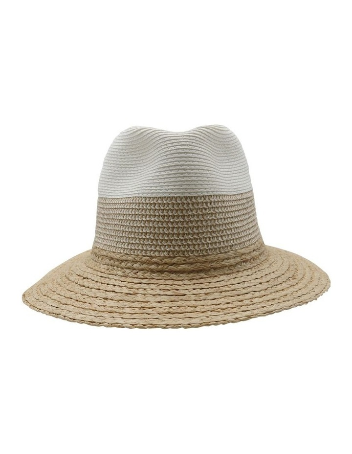 Two Tone Fedora Summer Hats image 1