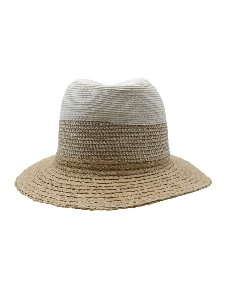 Two Tone Fedora Summer Hats image 2