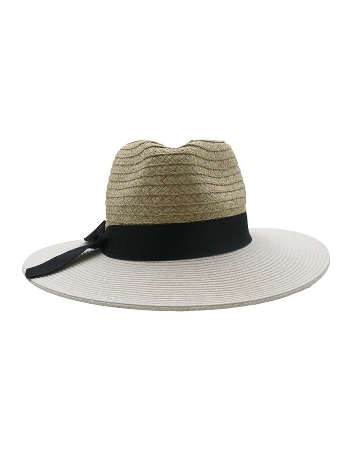 Paper Two Tone Summer Hats image 1
