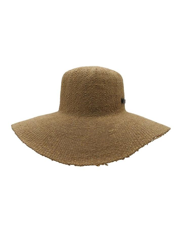 Brown Trim Floppy Summer Hats image 1