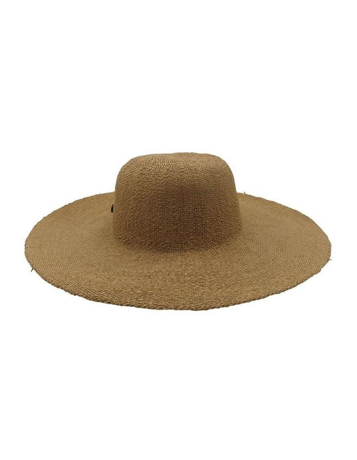 Brown Trim Floppy Summer Hats image 2