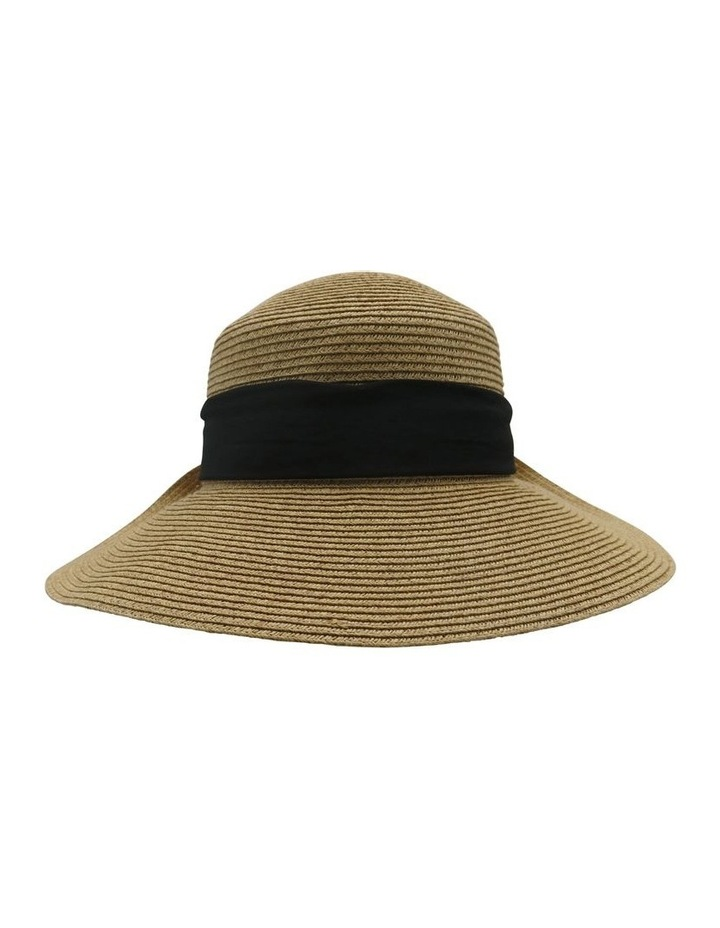 Bow Back Hat With Bow  Summer Hats image 1