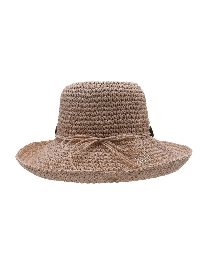 Turn Up Hat With Button Trim  Summer Hats image 2