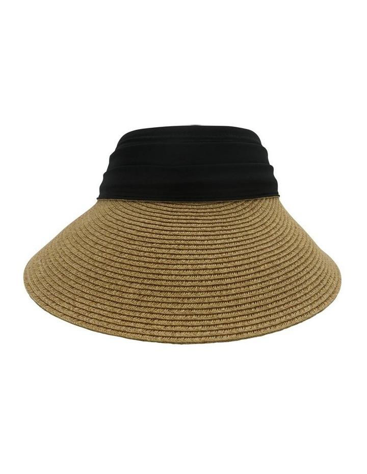 Visor With Black Trim Summer Hats image 1