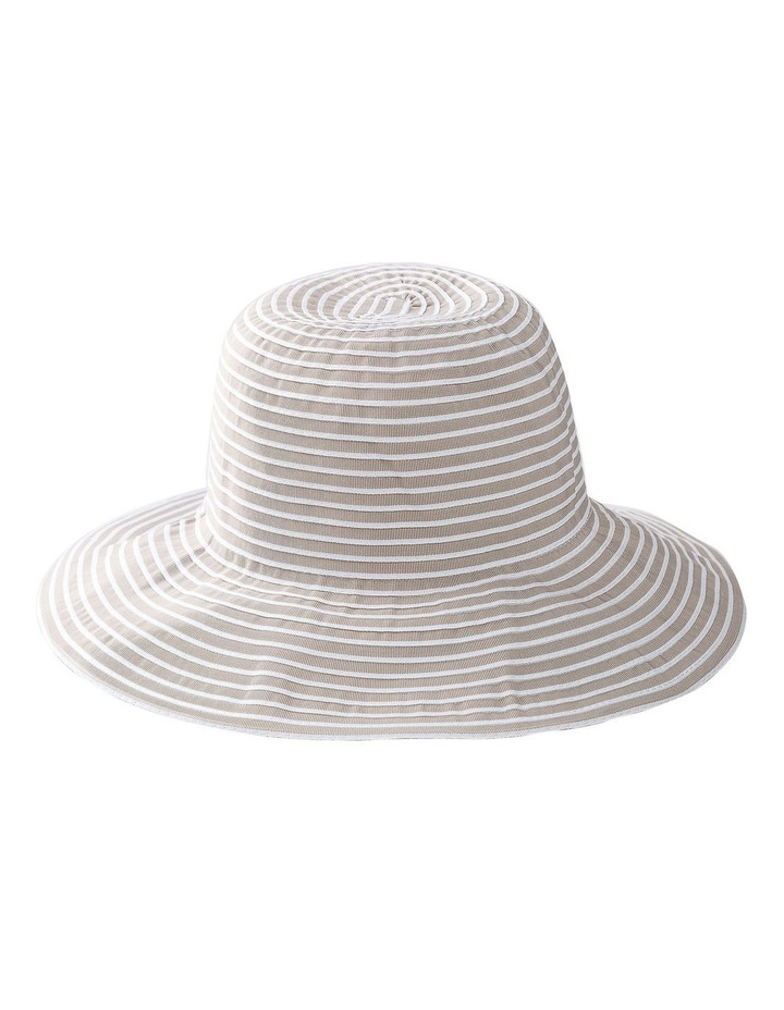 Two Tone Ribbon Hat Summer Hats image 1