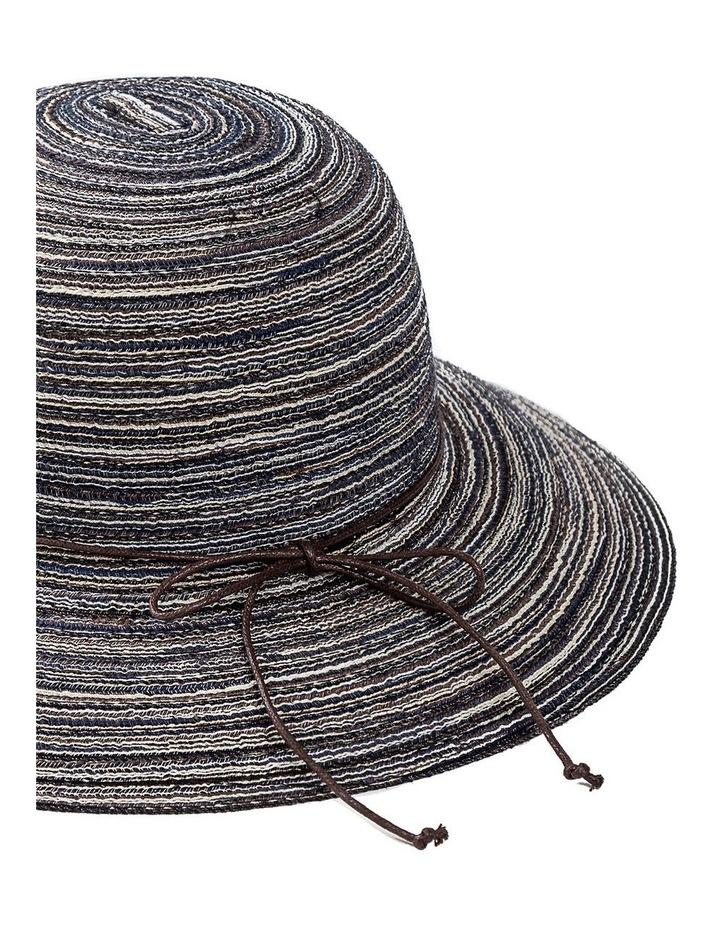 Melange Bucket Hat With Tie Summer Hats image 2