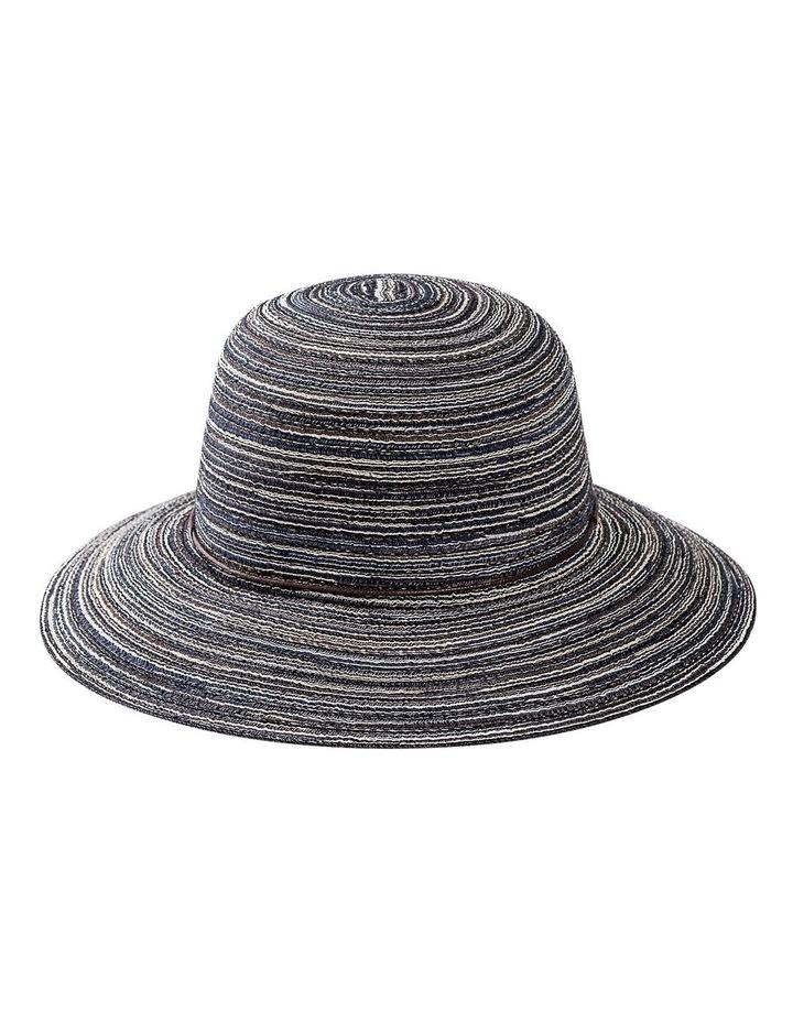 Melange Bucket Hat With Tie Summer Hats image 1