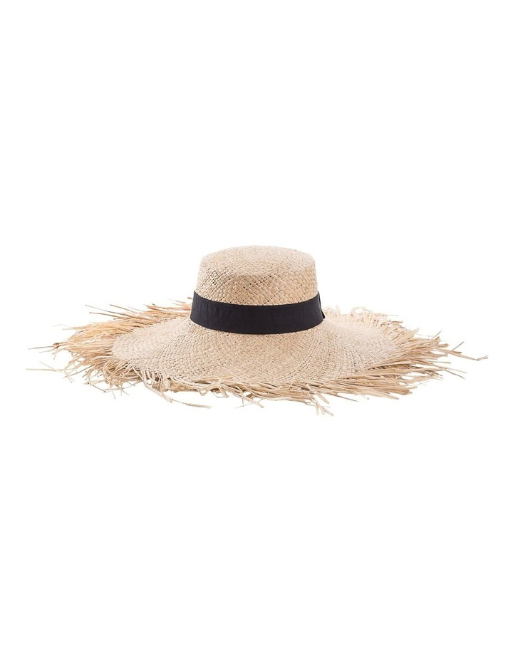 Freyed Edge Wide Brim Hat With Band Summer Hats image 1