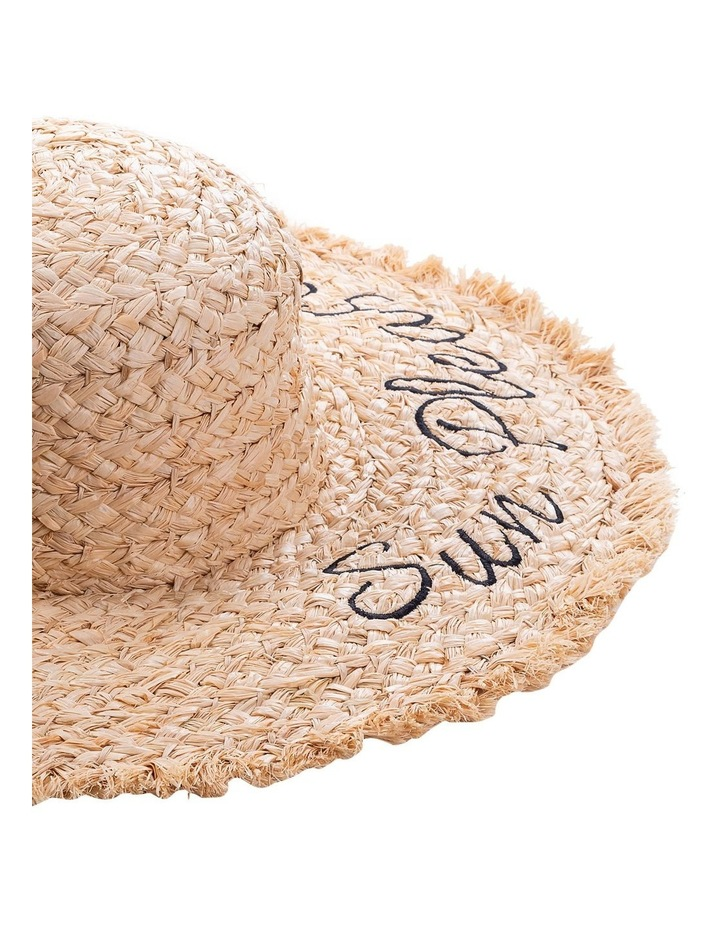 Sun Please Raffia Wide Brim  Hat Summer Hats image 2