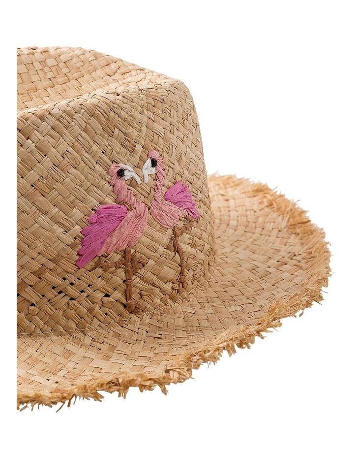 Flamingo Fedora Hat Summer Hats image 2