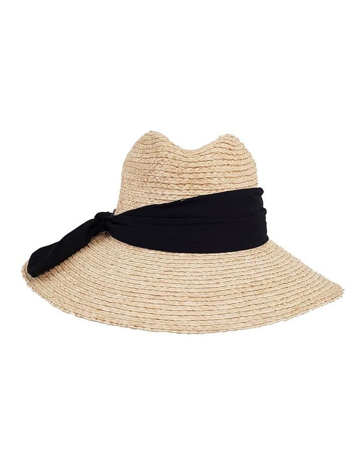 4-7705 Natural Fedora Sun Hat image 1