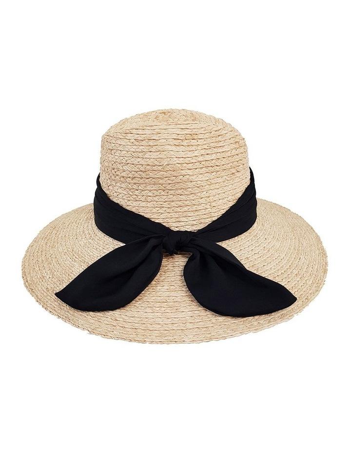 4-7705 Natural Fedora Sun Hat image 2