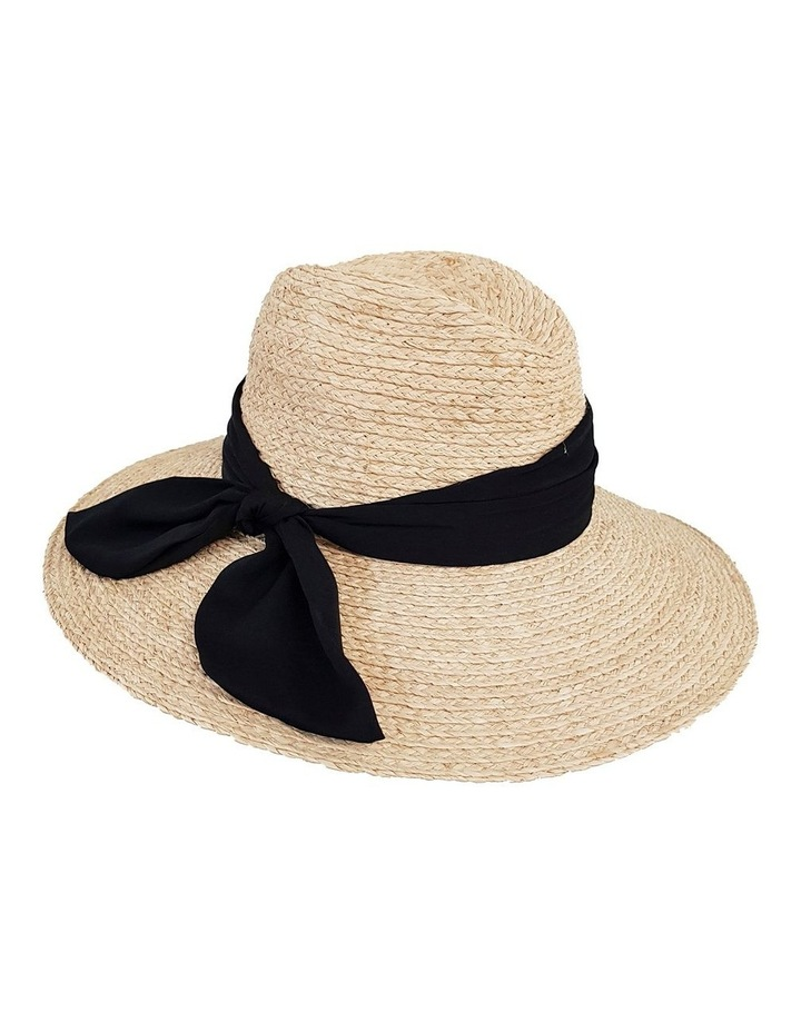 4-7705 Natural Fedora Sun Hat image 3