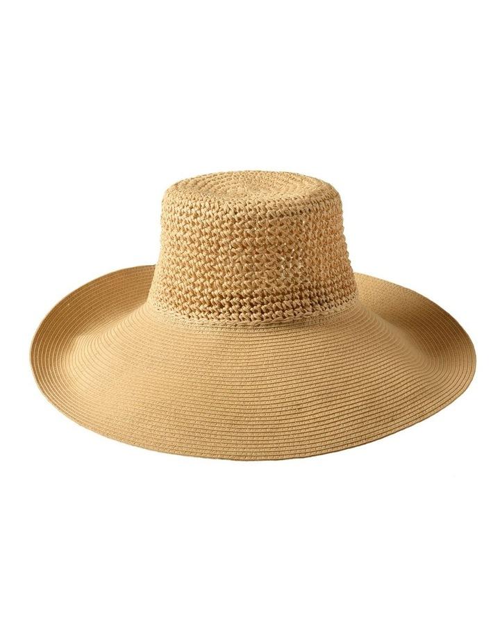 3-7223 Cream Sun Hat image 1