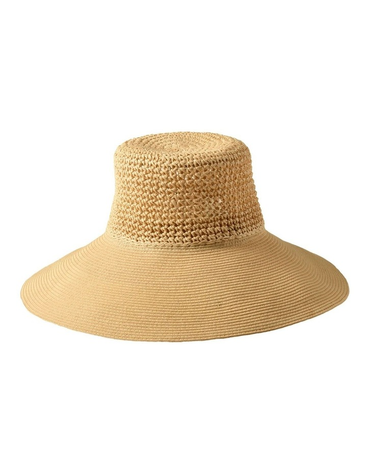 3-7223 Cream Sun Hat image 2