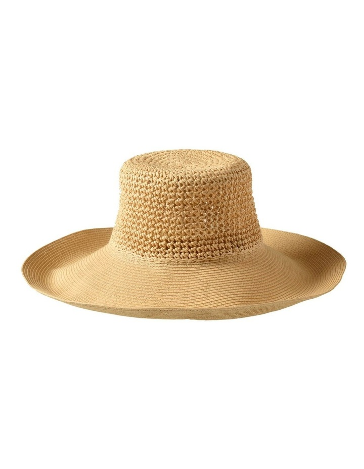 3-7223 Cream Sun Hat image 3