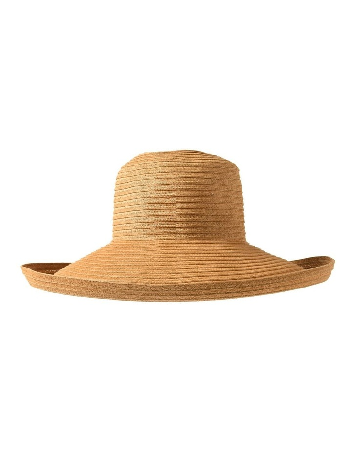 3-7909 Toast Turn Up Sun Hat image 1