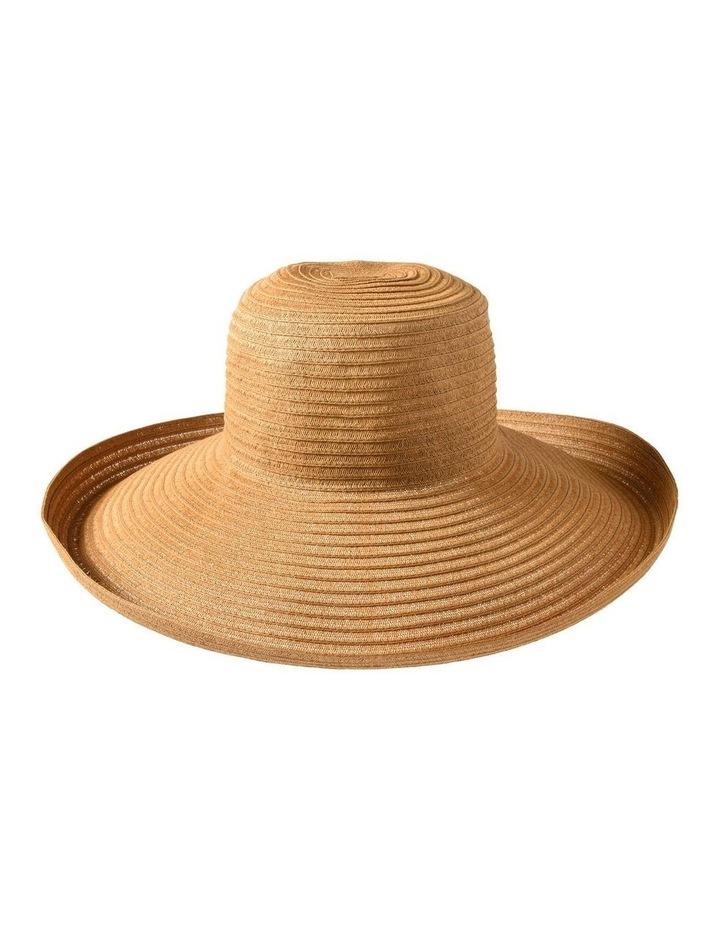 3-7909 Toast Turn Up Sun Hat image 2