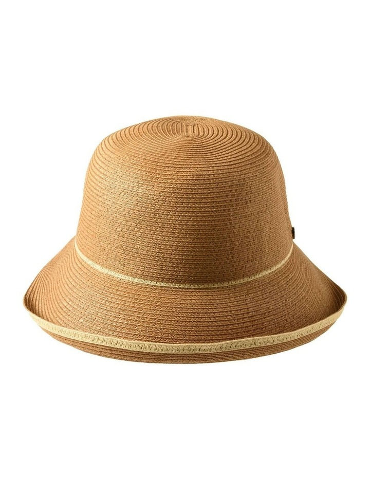 3-7908 Toast Turn Up Hat With Trim image 1