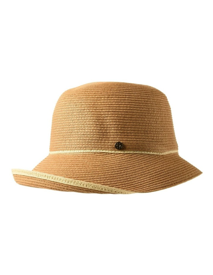 3-7908 Toast Turn Up Hat With Trim image 2
