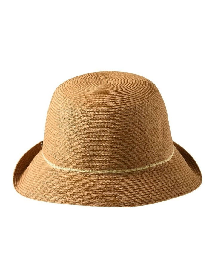 3-7908 Toast Turn Up Hat With Trim image 3