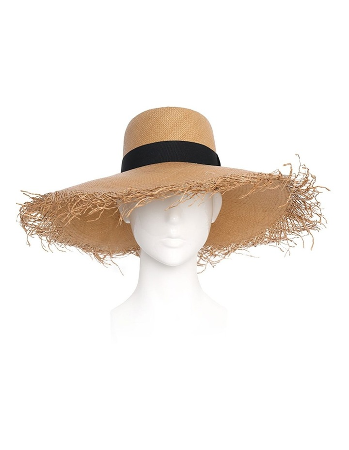 Adley Wide Brim Freyed Edge Summer Hat image 2