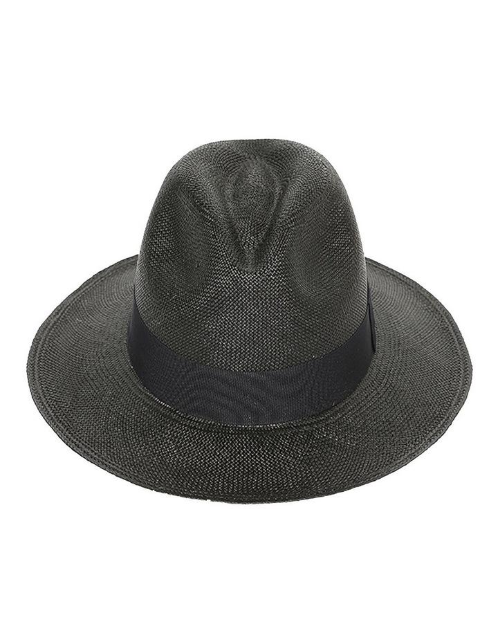 Chloe Panama Straw Fedora Summer Hat image 1