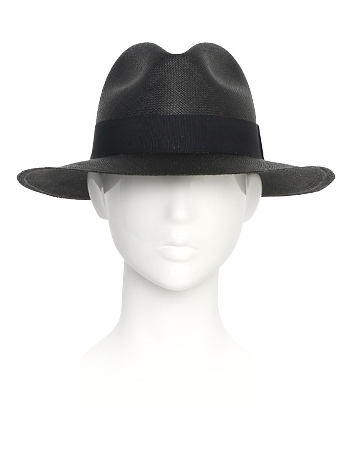 Chloe Panama Straw Fedora Summer Hat image 2