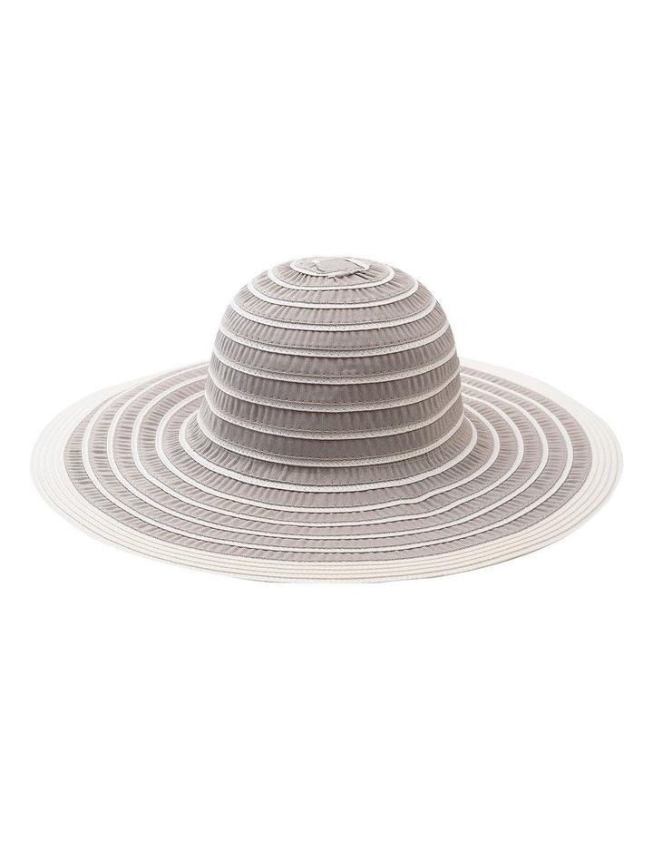 GHCR014M Wide Brim Ribbon Summer Hats image 1