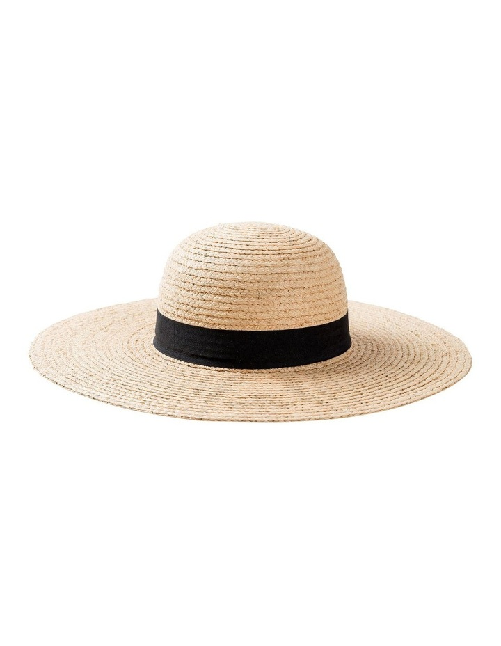 GHCR302M Raffia With Band Summer Hats image 1