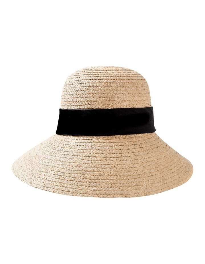 GHCR303M Raffia Bonnet With Band Summer Hats image 1