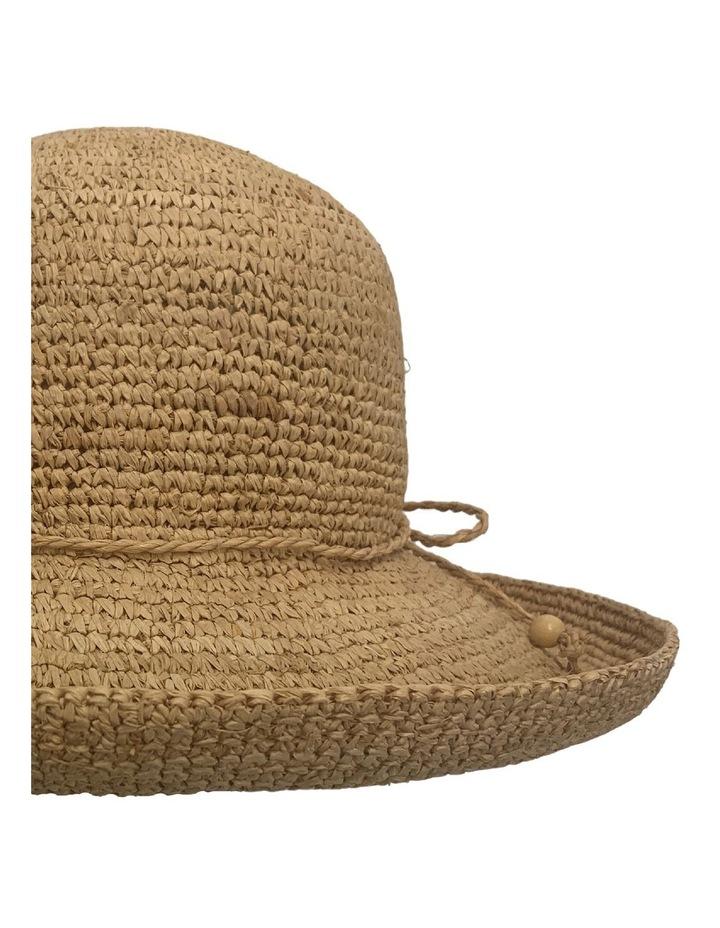 GHCR300M Raffia Crochet Upturn Brim Summer Hats image 2