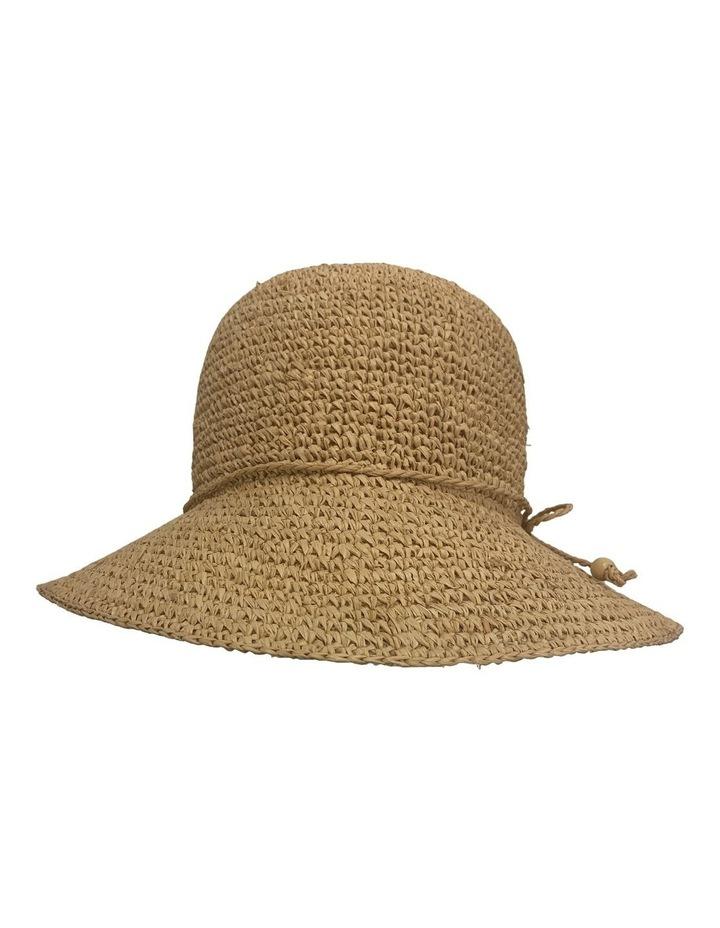GHCR301M Raffia Crochet Bucket Summer Hats image 1