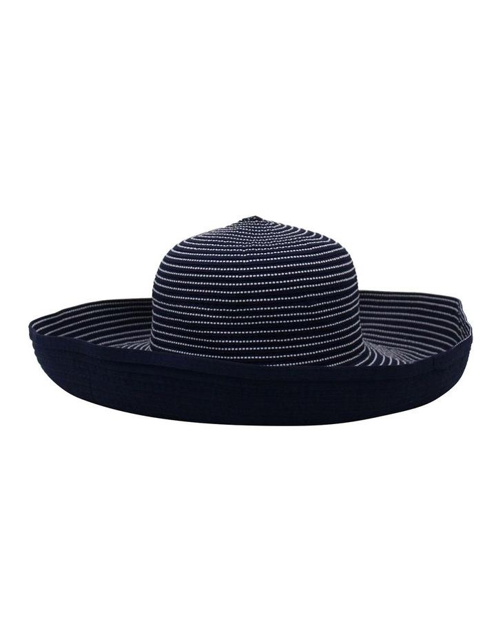 Striped Wide Brim Summer Hat SCF896 image 2