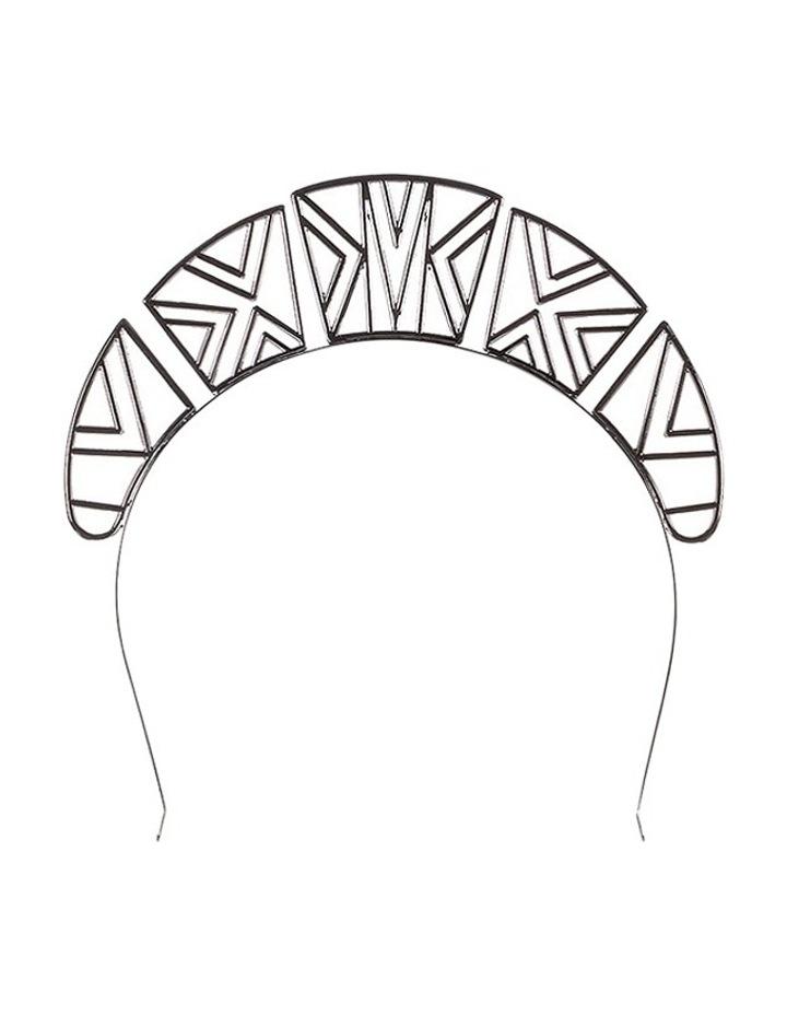 Emmy Crown Metal Headband image 1