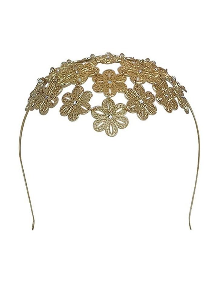 Reyna Floral Metal Headband image 1