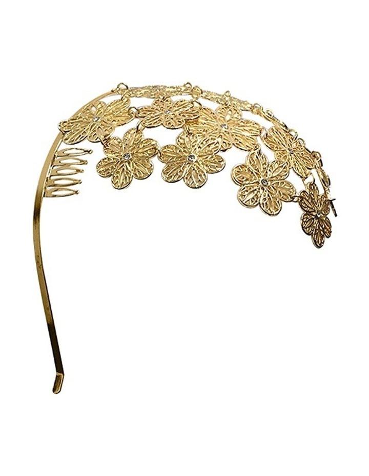 Reyna Floral Metal Headband image 2