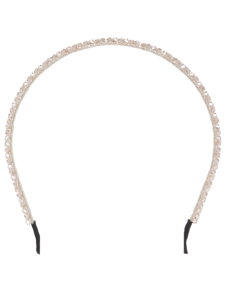 Micro Bead Headband Hair Accessory image 1