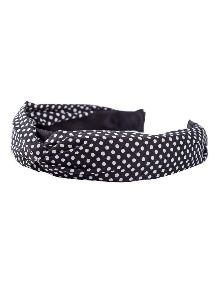 Small Spot Turban Headband image 2