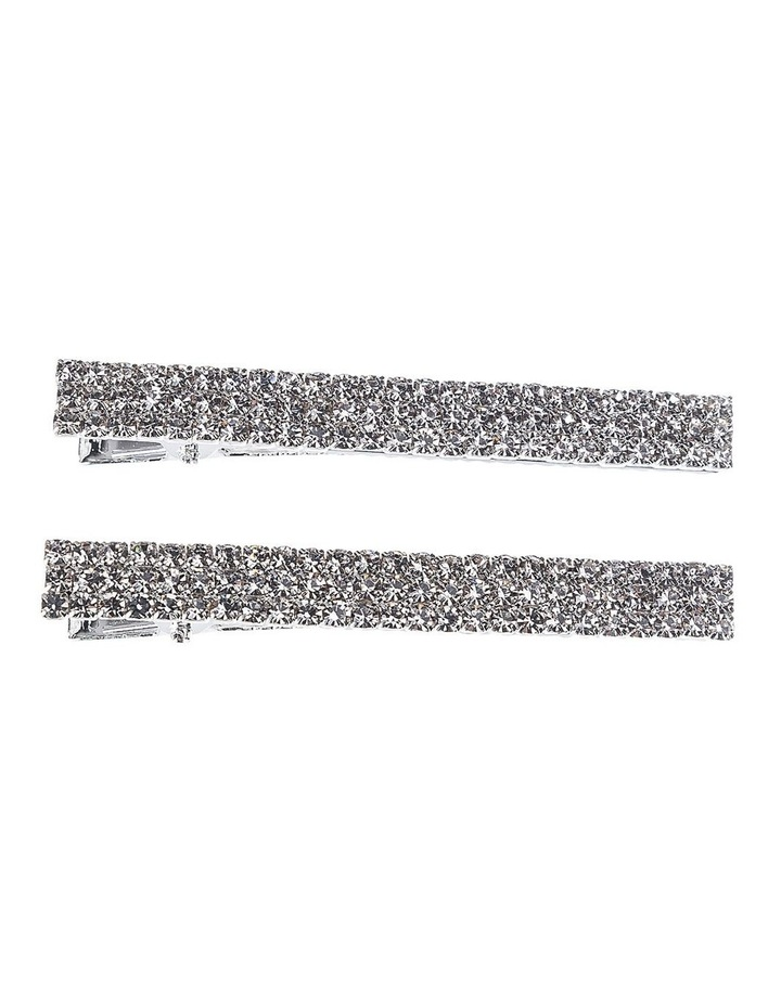 Diamante Alligator Clip Hair Accessory image 1